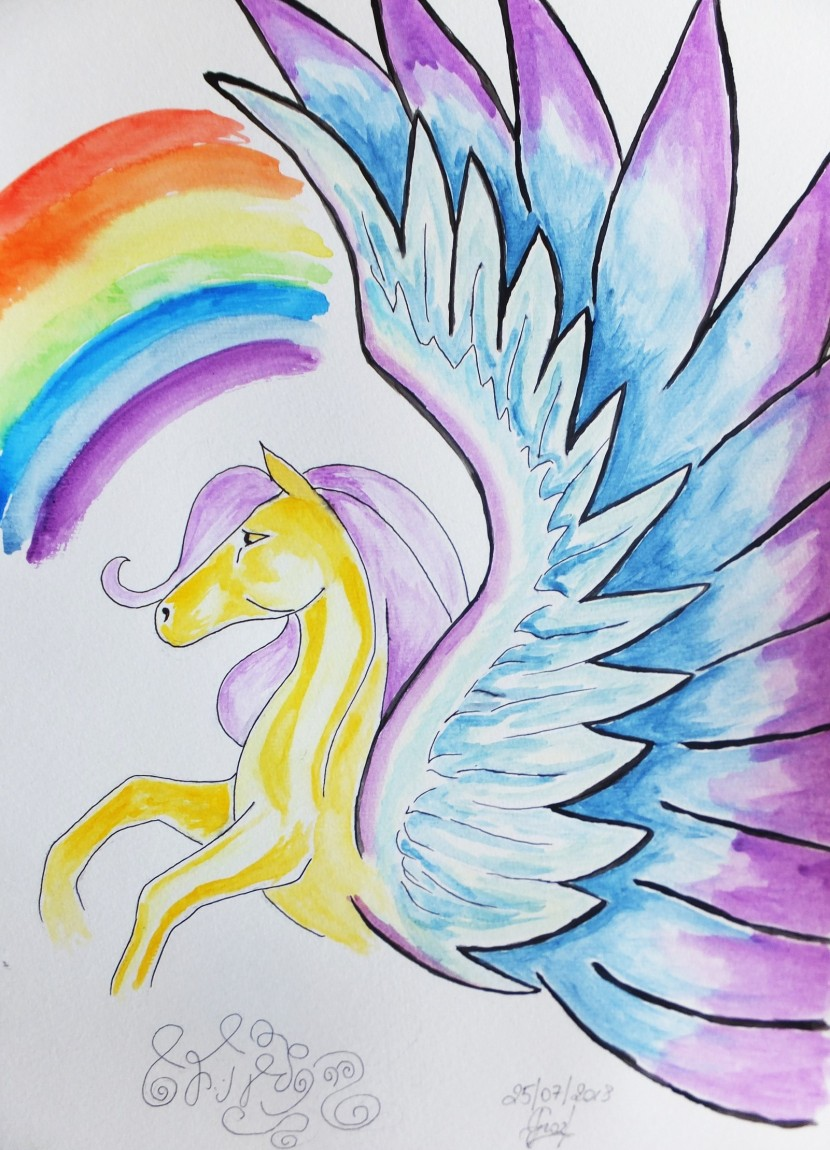 A channeled message from a Pegasus namedHaneya