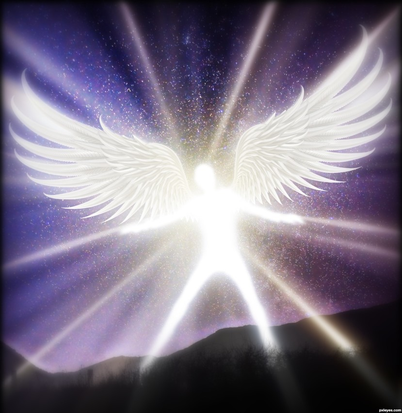 The angel of love: what we see in others is a reflection ofourselves.