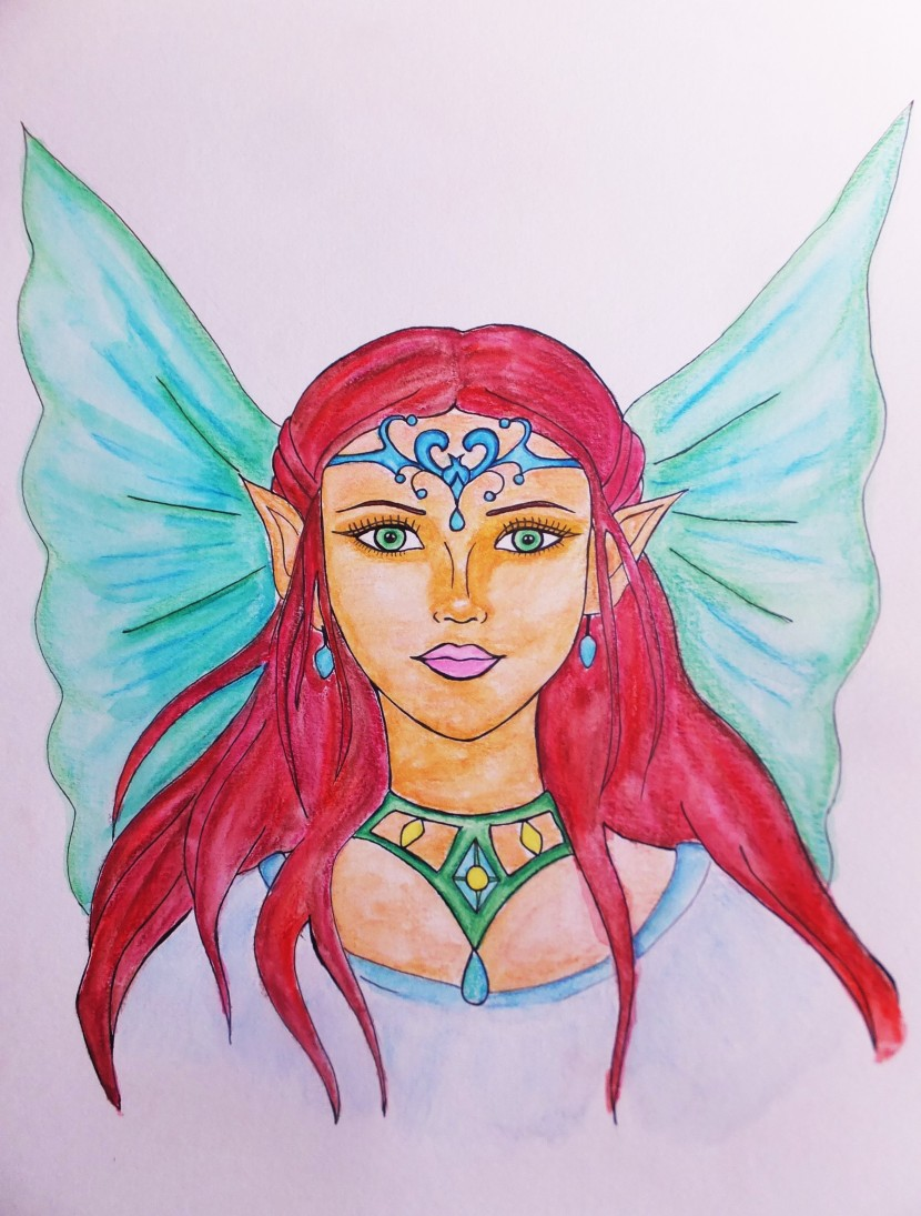 Cordelia the magical fairy about using your fantasy and creativity