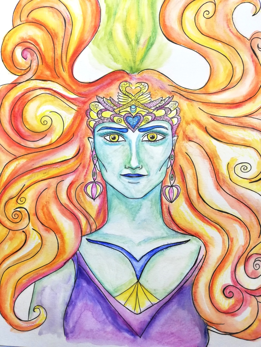 Goddess Galacia about embracing the masculine within yourself