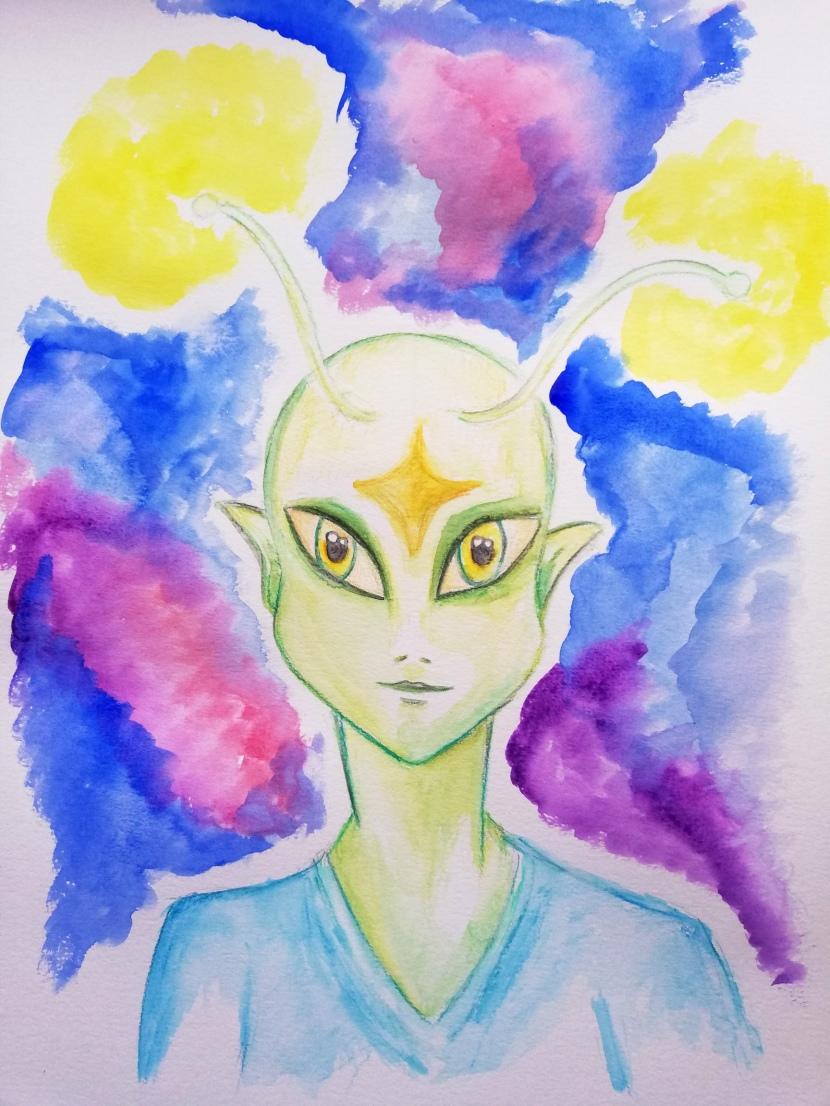 Alien spirit guide Pantheus about findingjoy