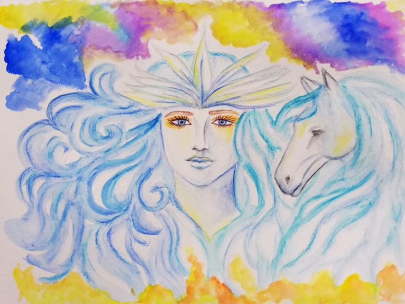 Spirit guides Aneida and Niela aboutmanifesting